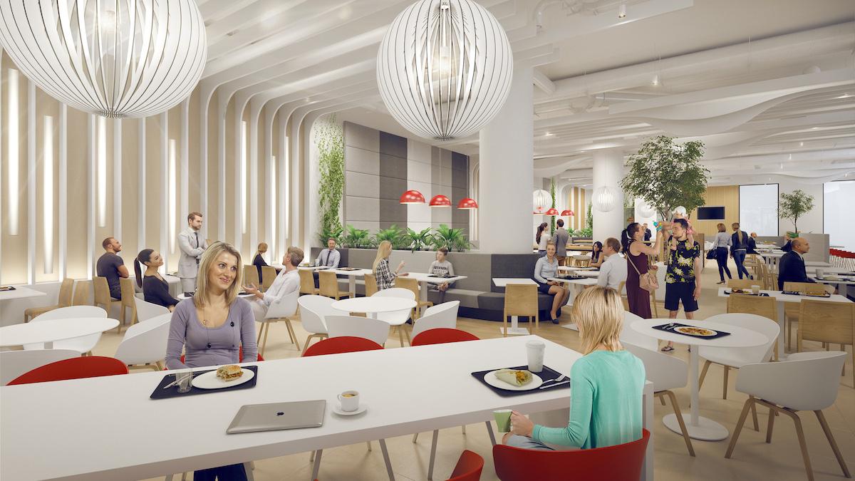 Citypark Jihlava: foodcourt