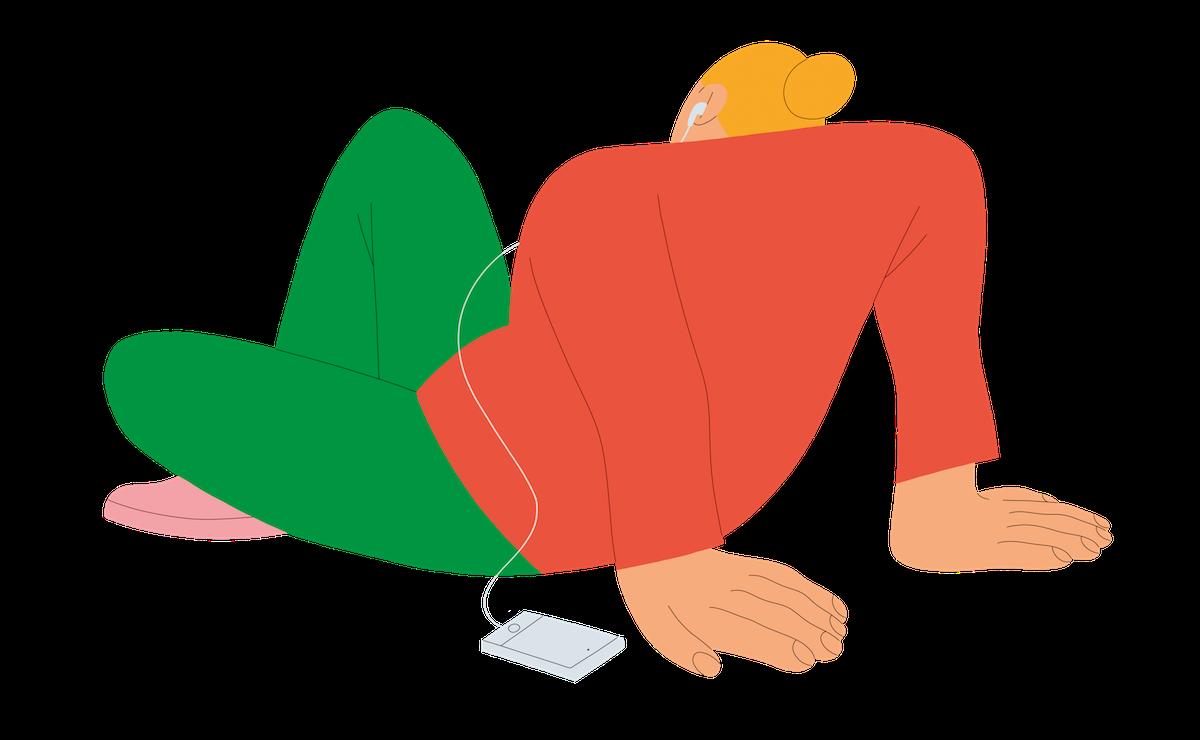 Pod-lidi. Ilustrace pro Contagious: Alva Skog