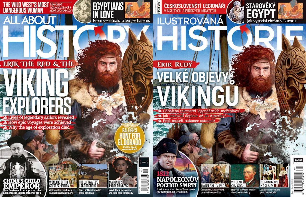 All About History a Ilustrovaná historie