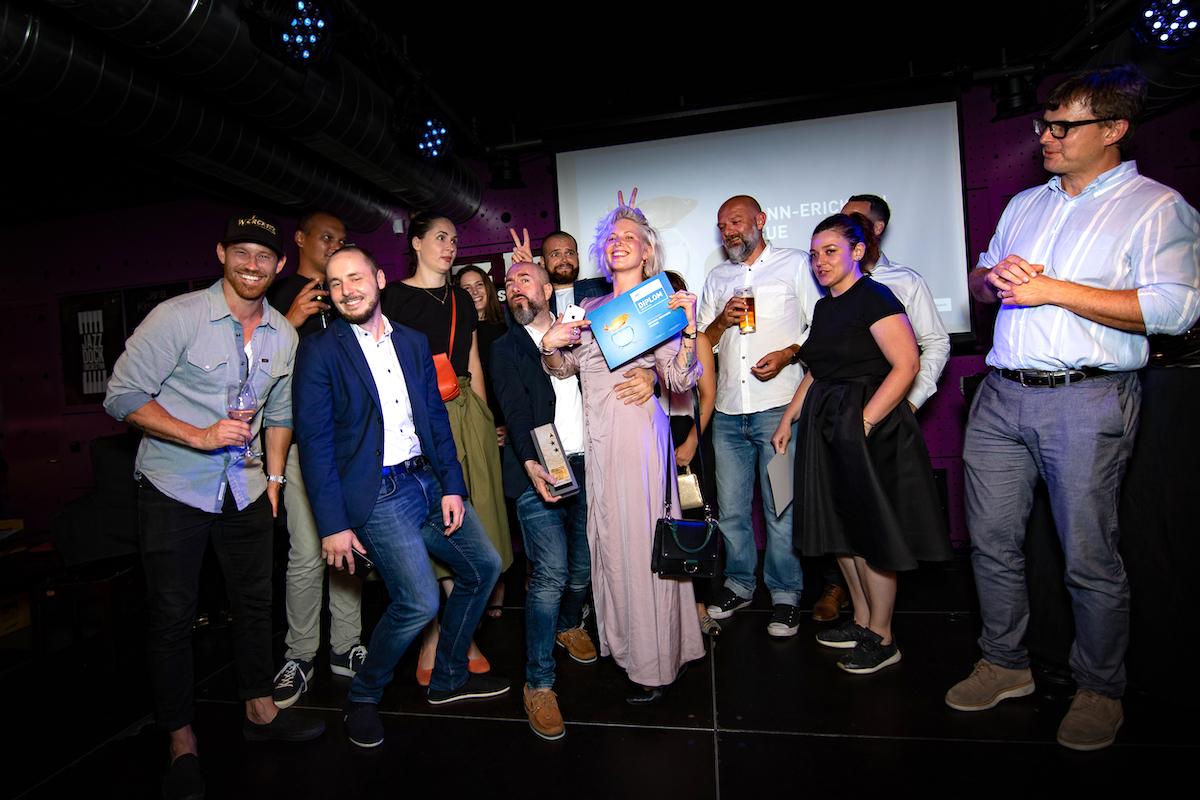 Největší radost měl tým McCannu, agentury roku a držitele Grand Prix za práci pro Coca-Colu s Ester Ledeckou. Foto: Tomáš Kříž