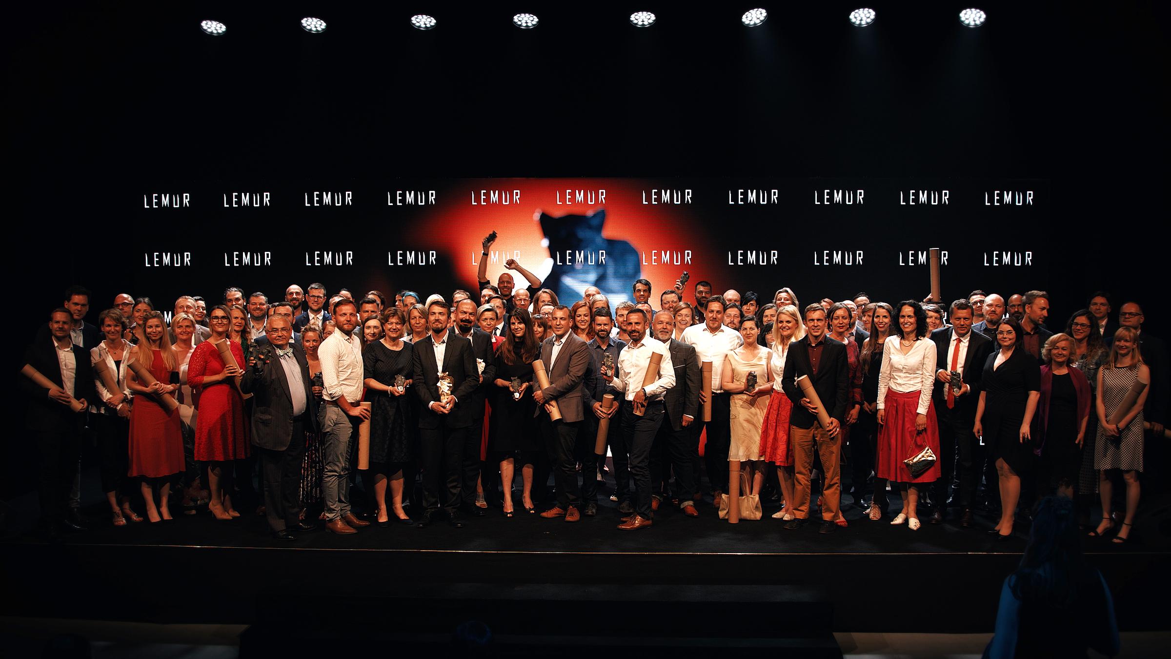 Vítězové cen Lemur 2019. Kliknutím zvětšíte