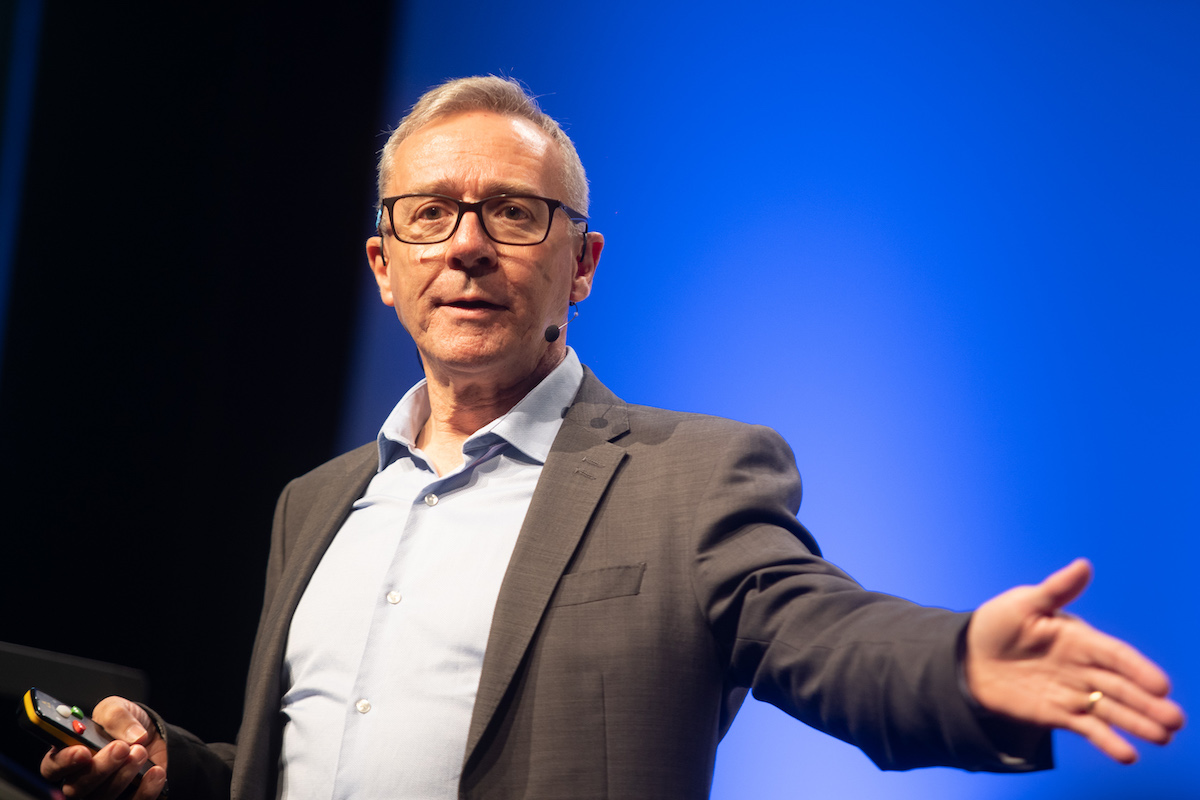 Les Binet na Communications Summitu 2019. Foto: Blue Events