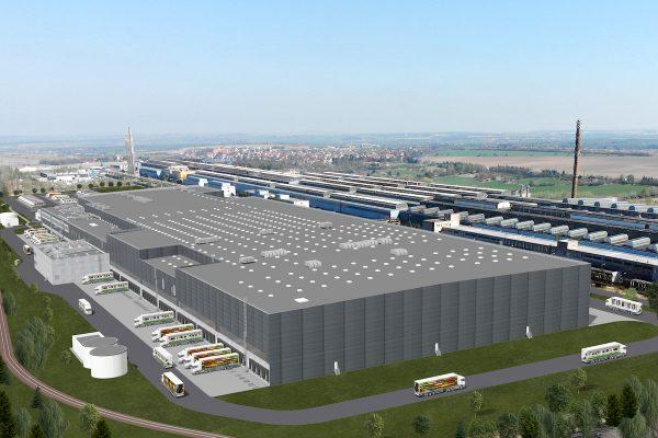 Lidl v Buštěhradě staví logistické centrum, otevře 15 nových prodejen