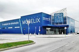 Möbelix uvedl ve slovenských Levicích nový koncept prodejny