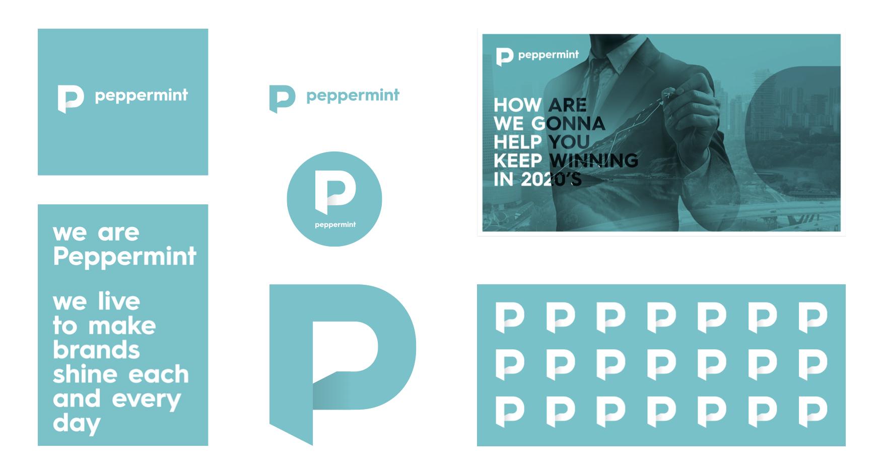 Agentura Peppermint má novou vizuální identitu. Toto jsou její ukázky