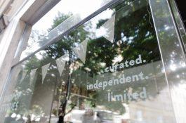 Obchod Shop Up Stories v Anglické 14 sdružujemalé nezávislé značky
