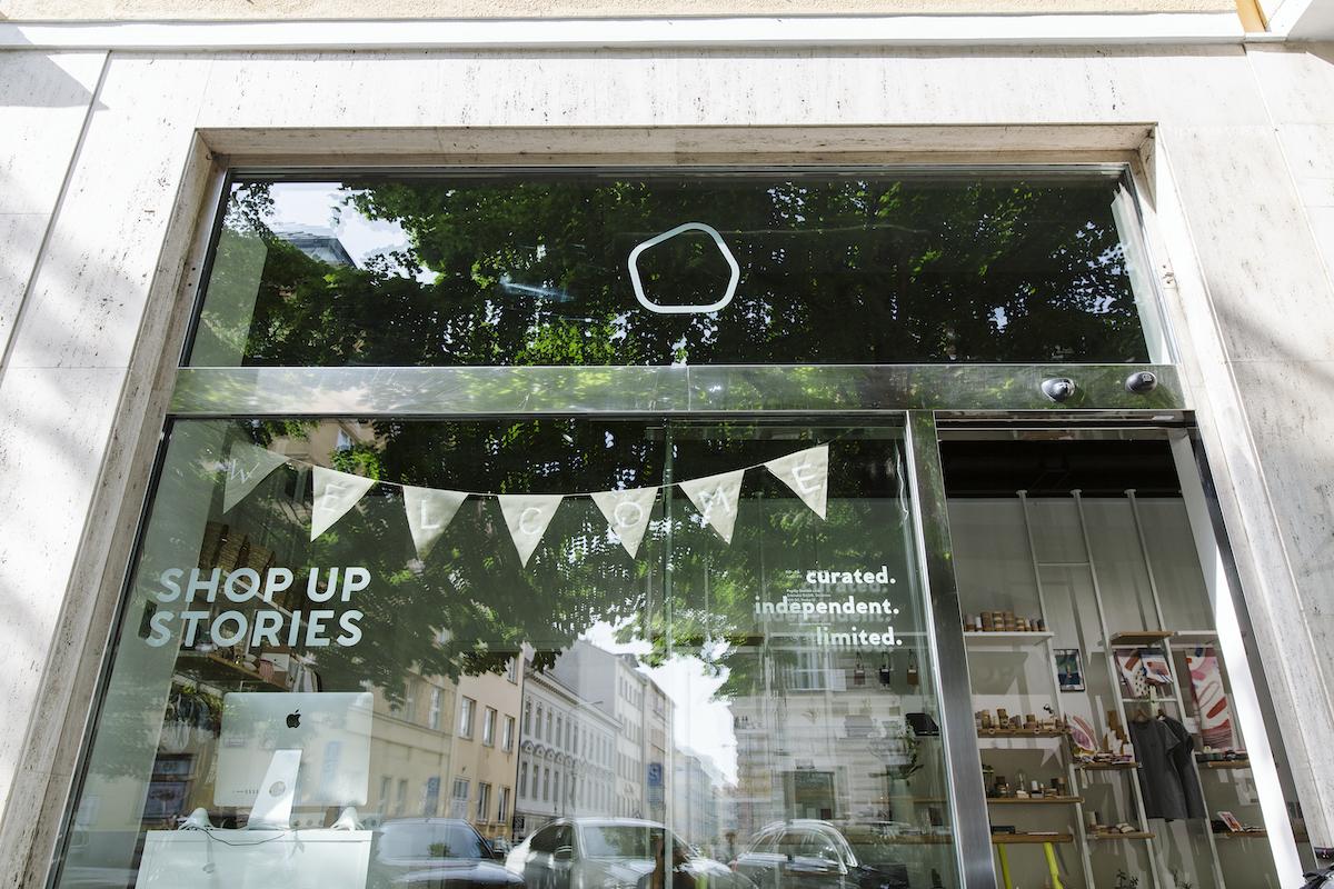 Shop Up Stories jsou v Praze v Anglické 14