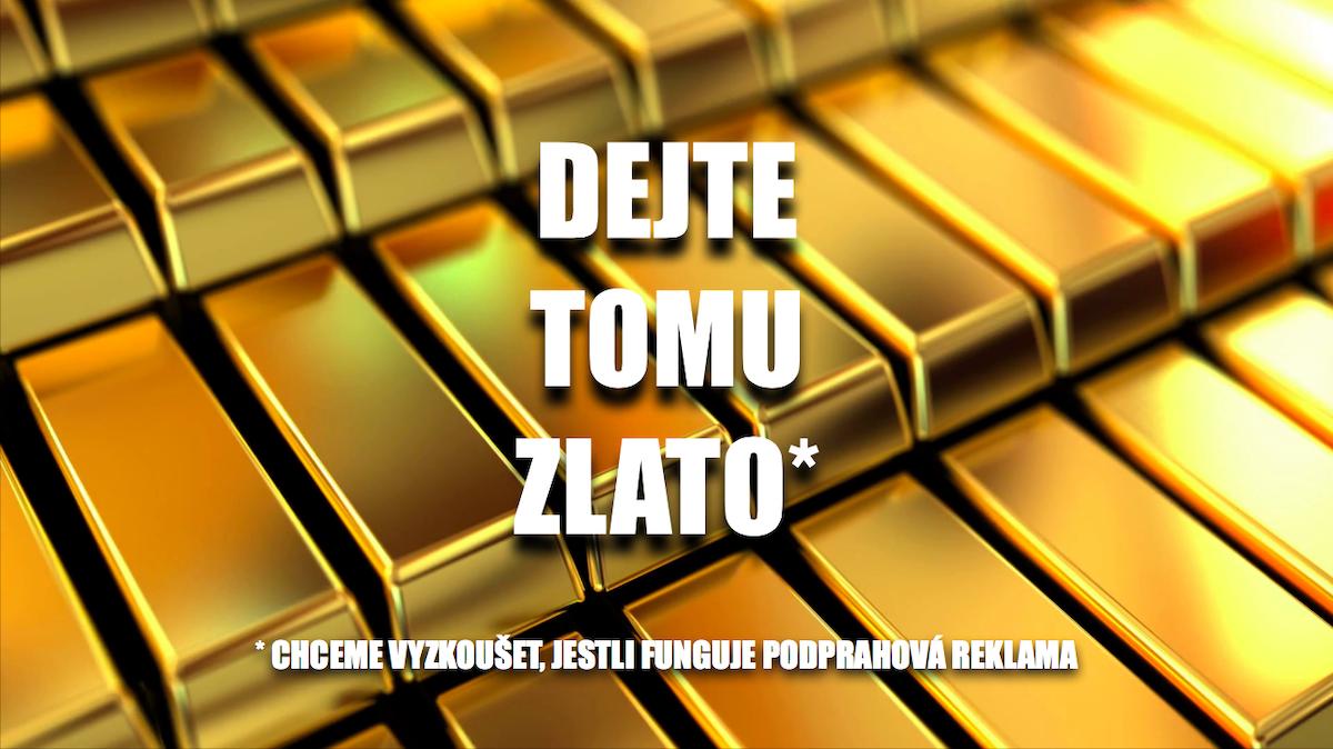 """Puklice k zisku zlata na Louskáčcích využily podprahovou reklamu, v podobě tohoto obrázku. Ten vložili na zlomek vteřiny do samotné case study Dopis pro Mistra. """"A došlo, k čemu asi dojít muselo. To pokud věříte, že podprahová reklama skutečně funguje. Zlato v kategorii Direct Mail jsme opravdu získali,"""" podotkl autor textu Zdeněk Buchtela"""