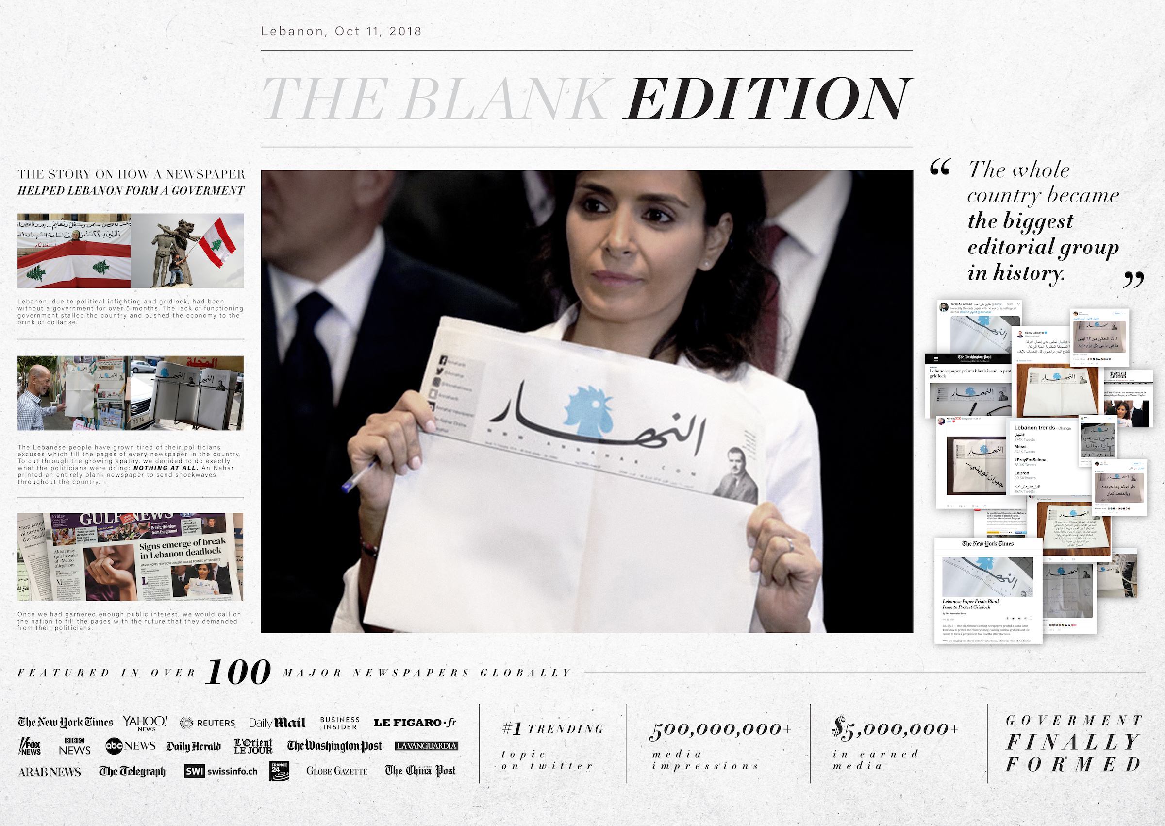 Al-Nahar: The Blank Edititon (Impact BBDO)