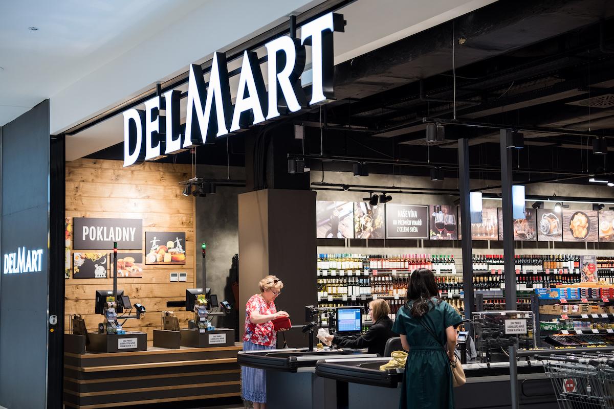 Nový Delmart v nákupním centru Arkády Pankrác