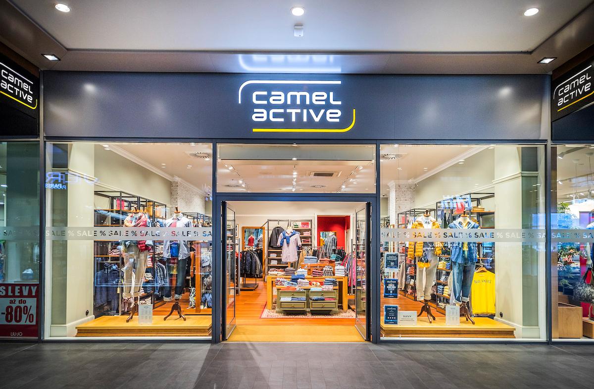 Obchod Camel Active v pražském Outletu Fashion Arena