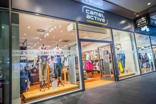 Fashion Arena Prague Outlet přidává oblečení Camel Active