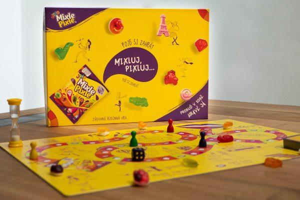Nestlé představilo novou variantu bonbonů Mixle Pixle i stolní hrou