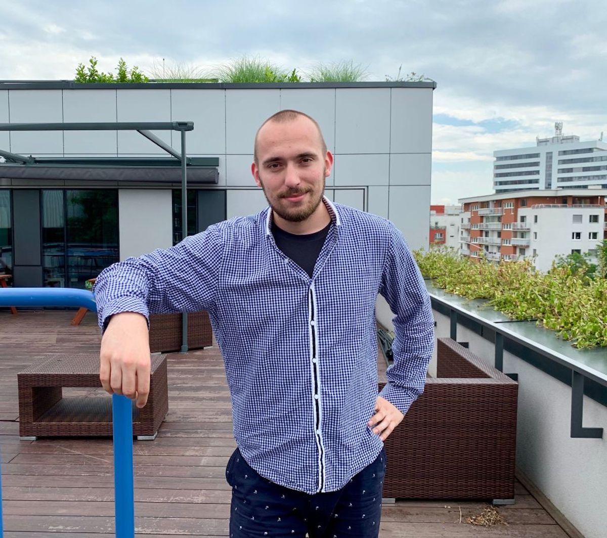 Provozní manažer Boltu na Slovensku Peter Mesarč
