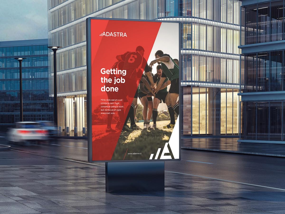 Nové logo a vizuální identita skupiny Adastra