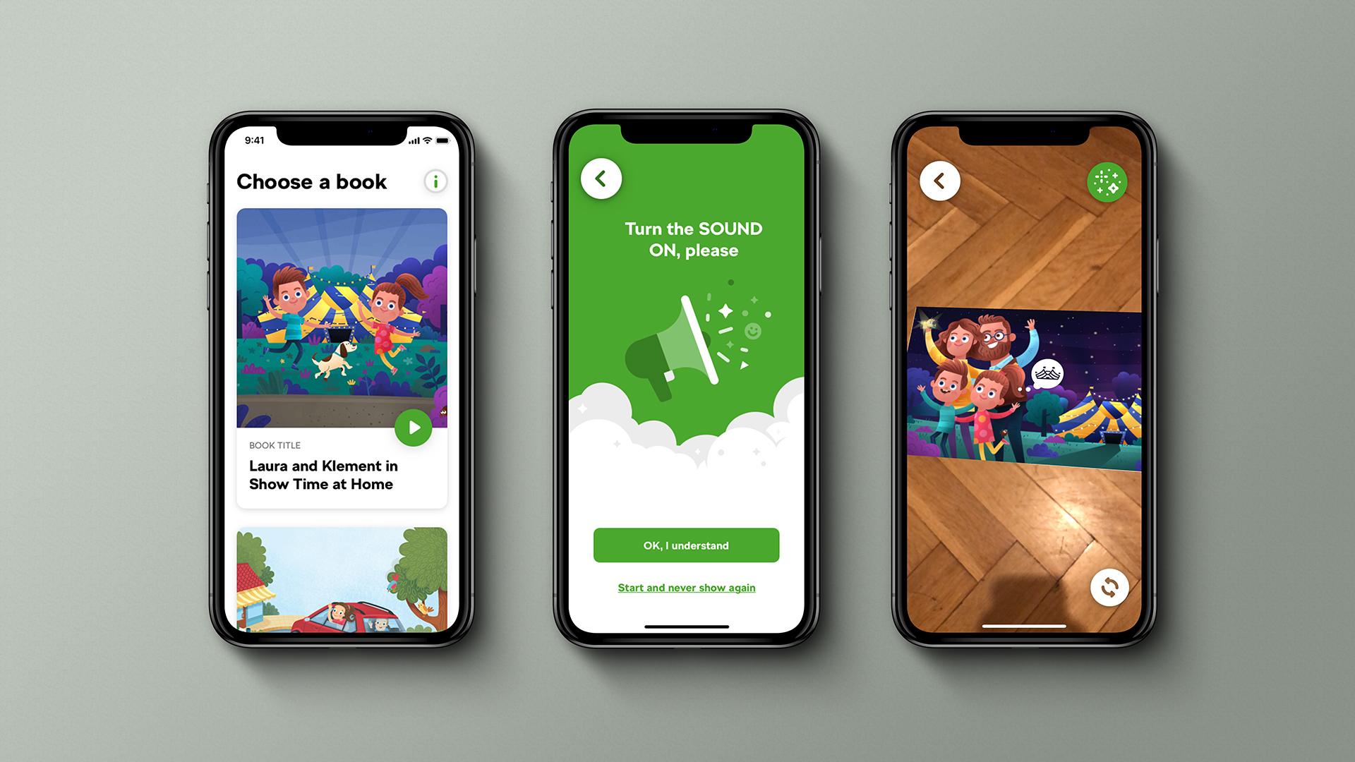 AR aplikace Škoda Magic Book postavená na platformě Brainz AR Framework