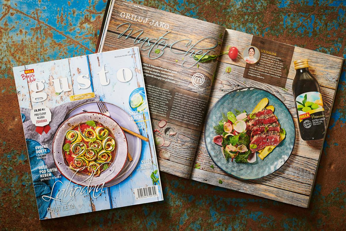 Nová podoba magazínu Gusto řetězce Billa