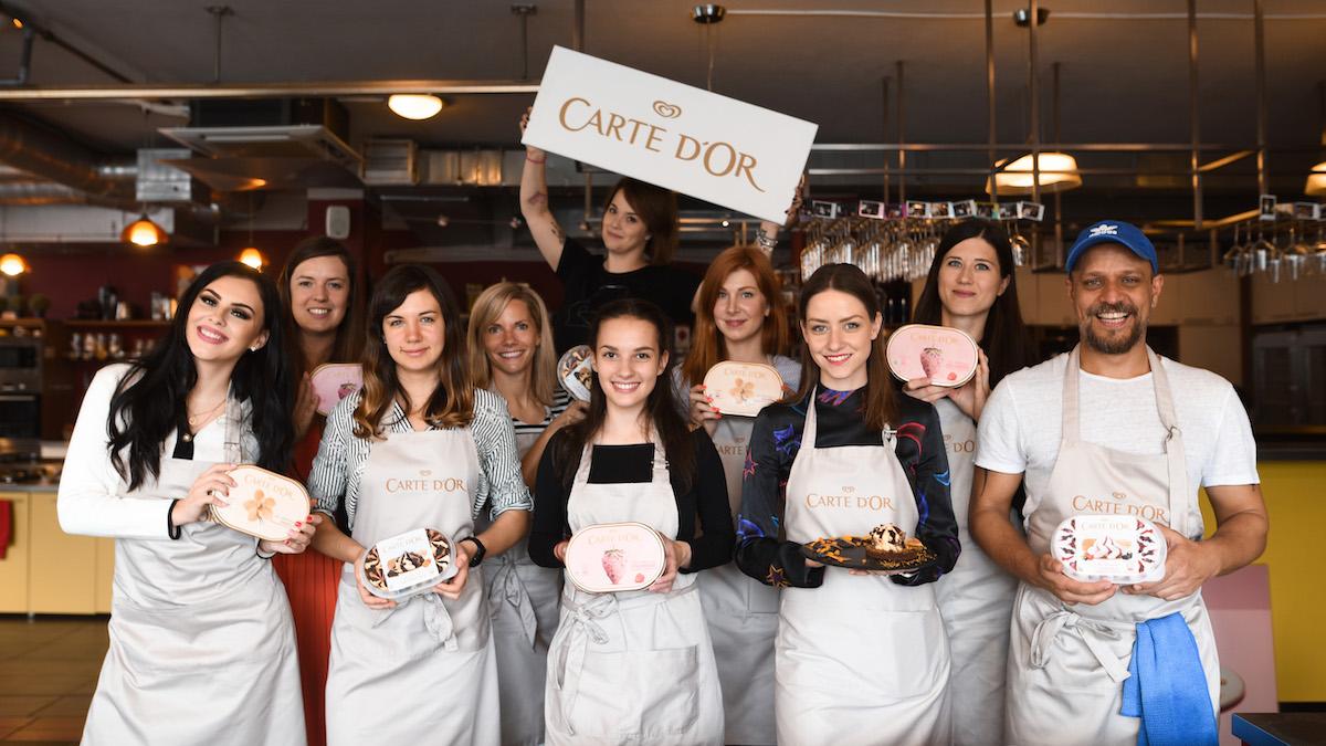 Kampaň značky Carte d'Or stála na spolupráci s influencery