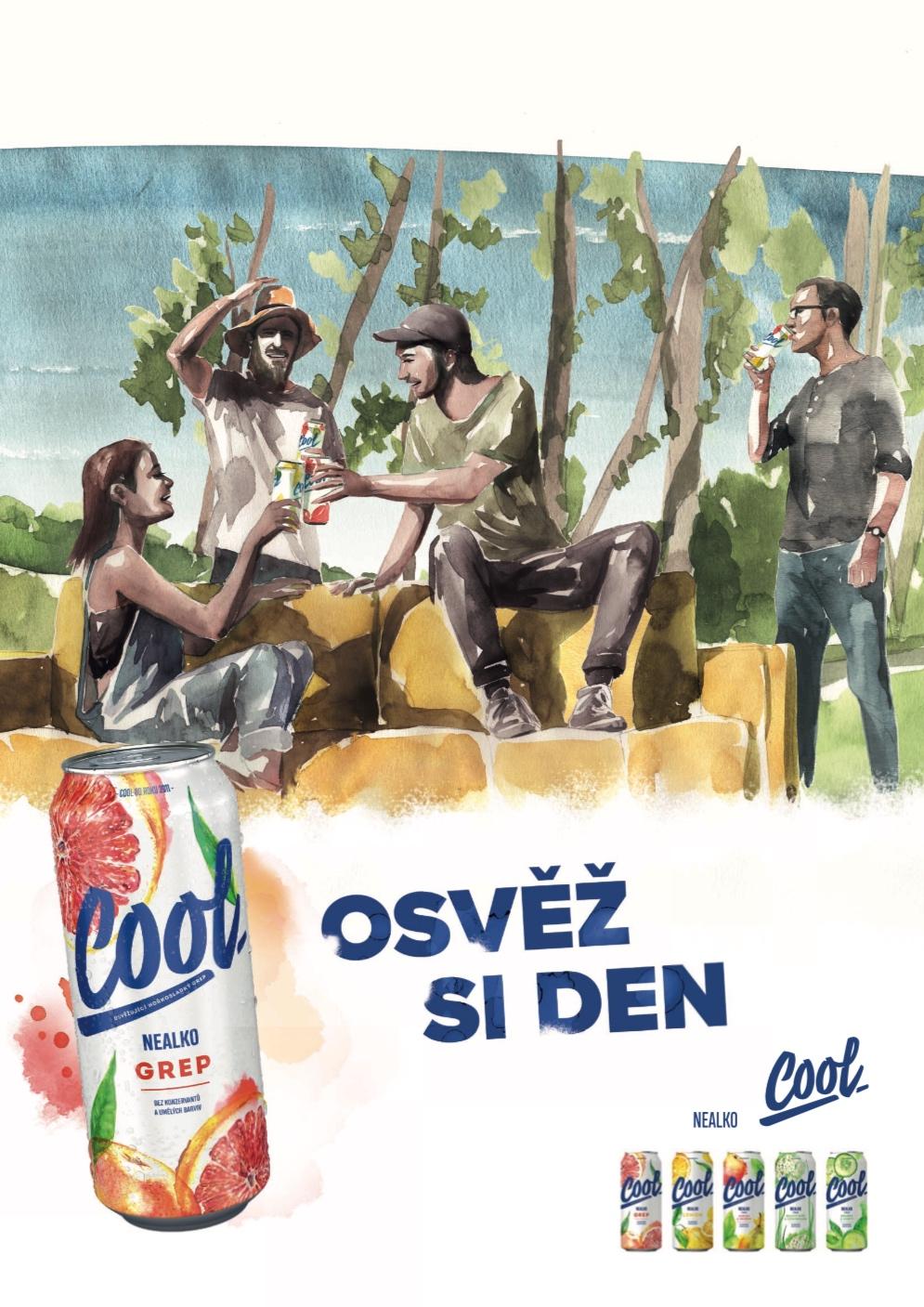 Staropramen Cool: Osvěž si den (Ogilvy)