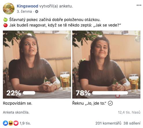 Kingswood: Skutečná otázka, neskutečná odpověď (Triad Advertising)