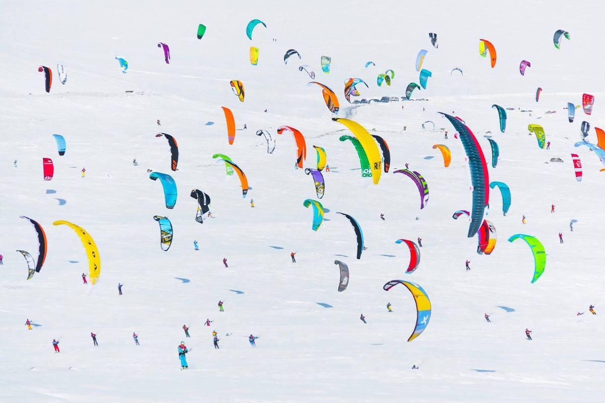 Kiting. Foto: Onthespot