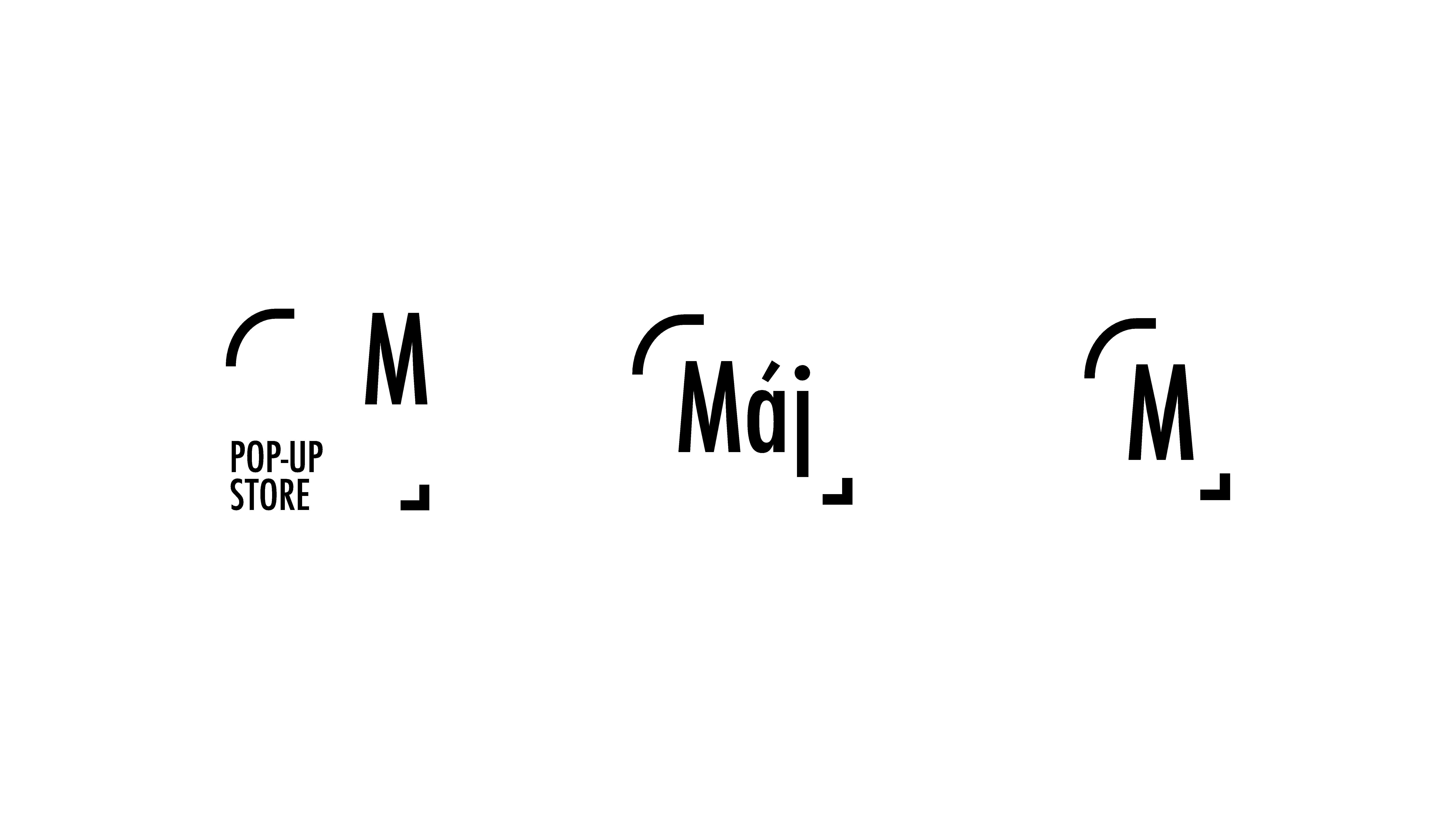 Varianty nového loga Máje
