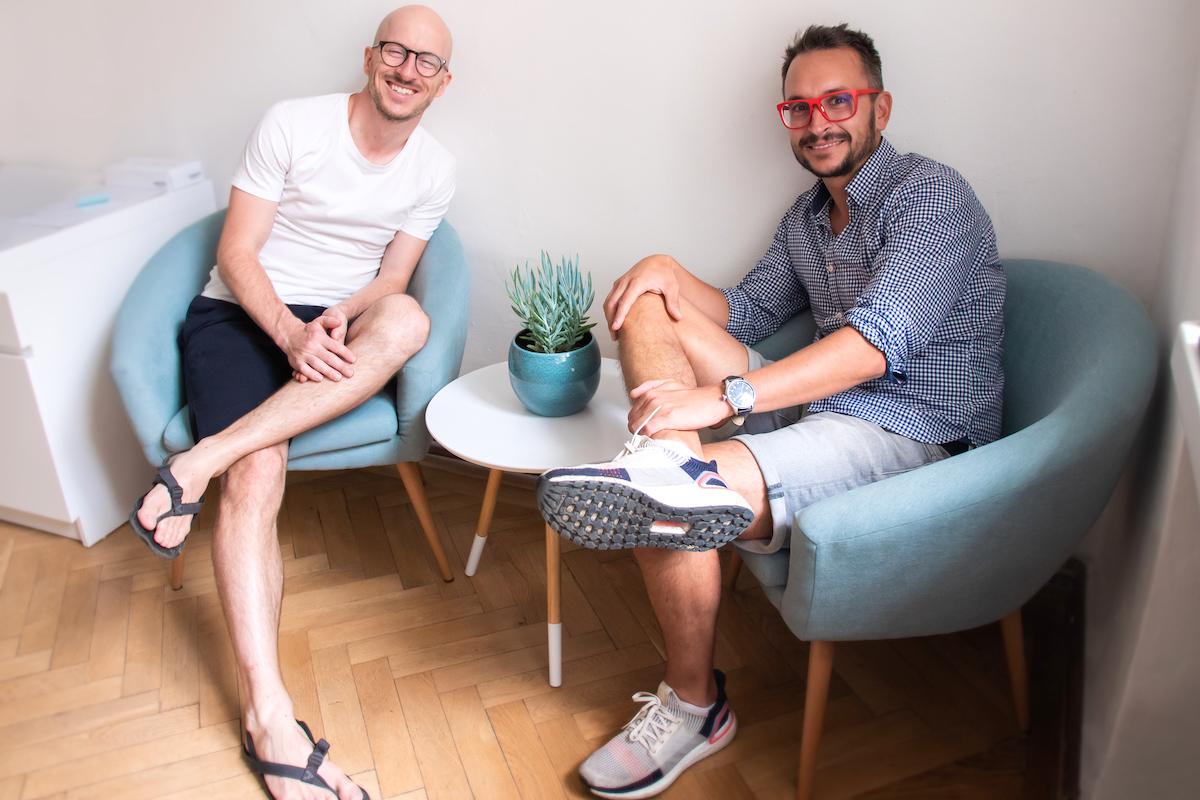 Petr Halík (vlevo) a Petr Mareš