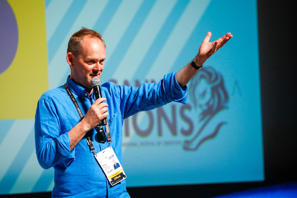 Philip Thomas. Foto: Richard Bord (Getty Images) pro Cannes Lions