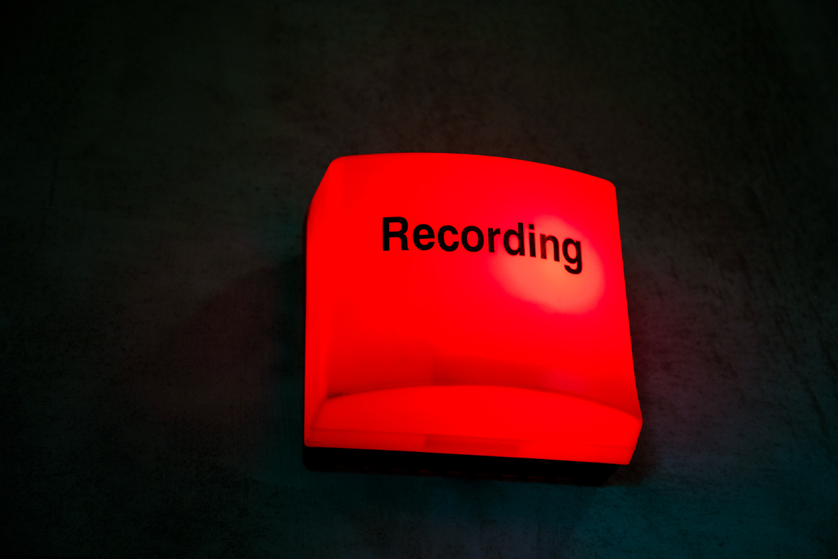 Natáčelo se ve studiu rádia Expres FM. Foto: Karel Choc