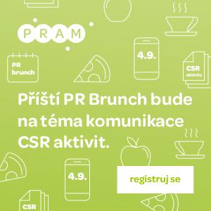 Registrujte se na zářijový PR Brunch