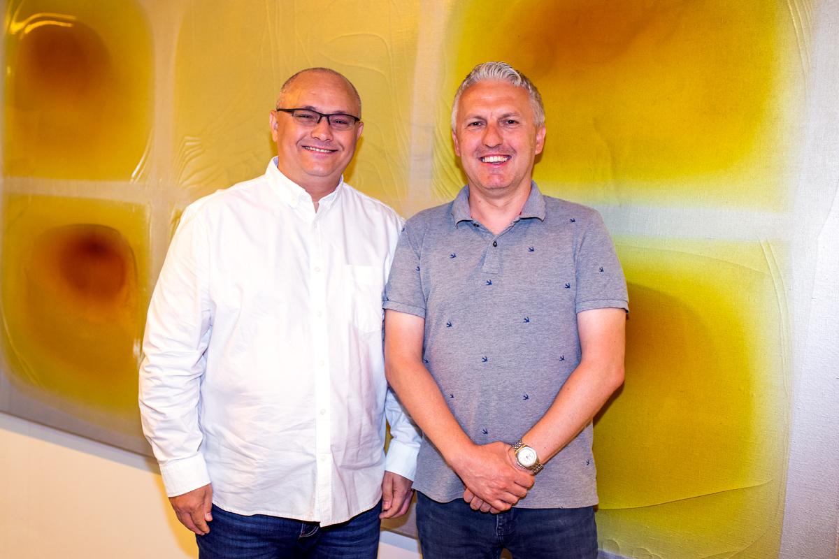 David Sroka a Pavel Matějíček. Foto: Karel Choc