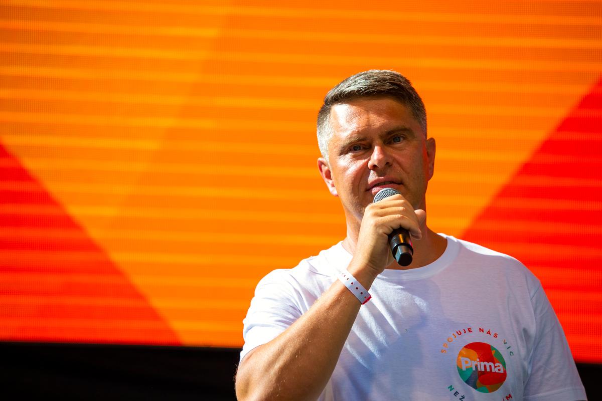 Generální ředitel primy Marek Singer
