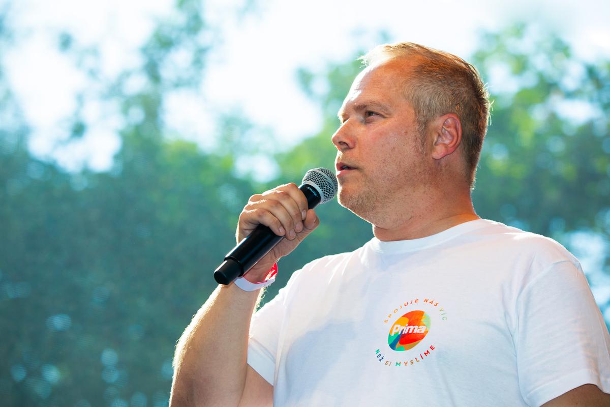 Programový ředitel Primy Roman Mrázek