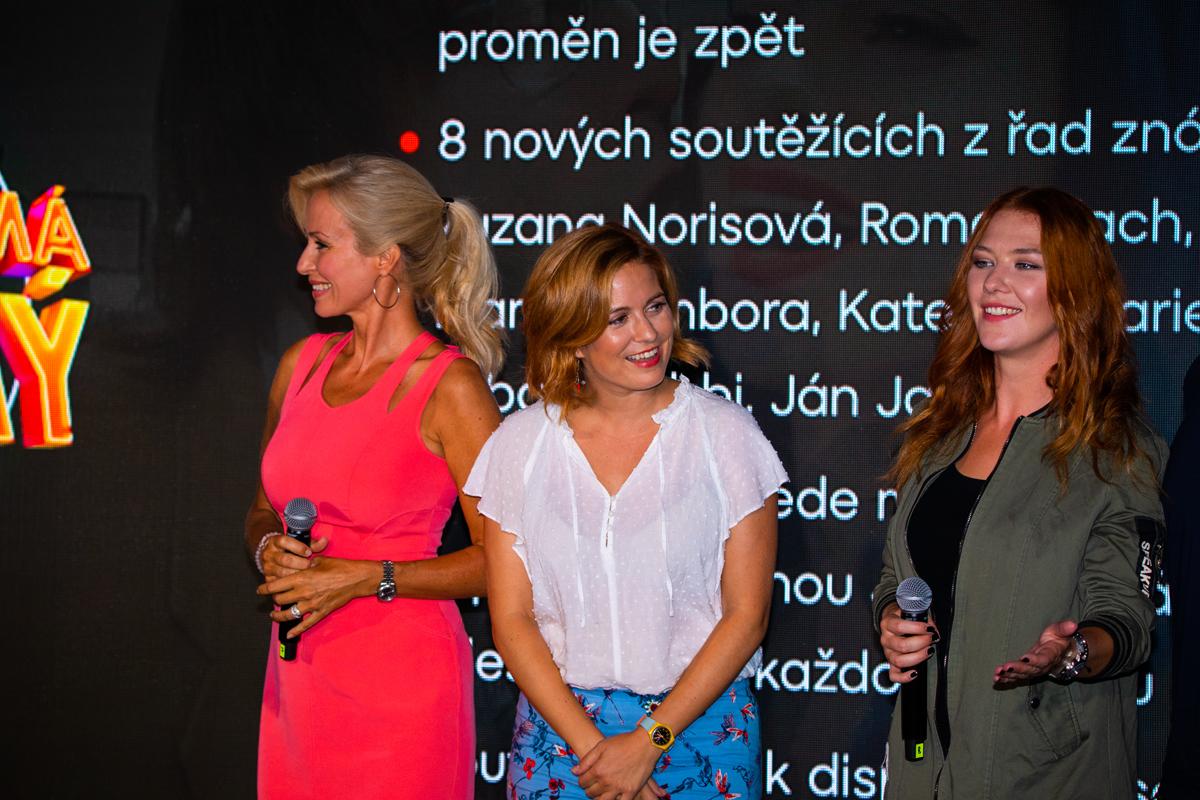 Kateřina Brožová, Zuzana Norisová, Debbie Kalová. Foto: Karel Choc