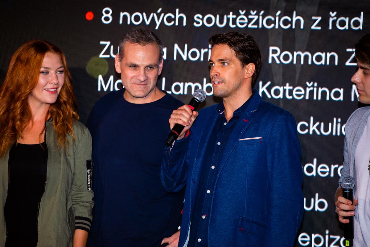 Debbi Kahl, Ján Jackuliak, Robert Urban. Foto: Karel Choc