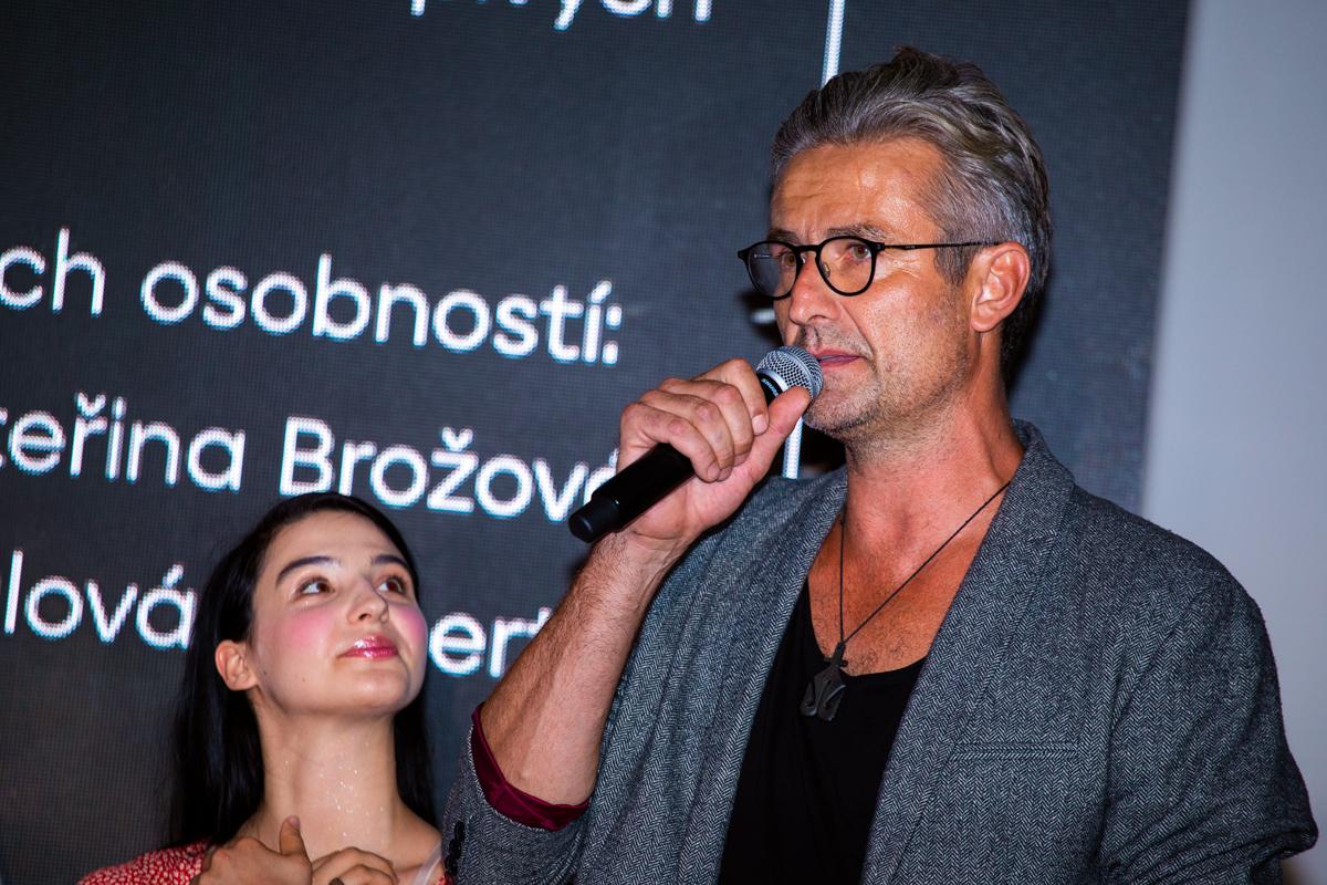 Kateřina Marie Fialová a Roman Zach. Foto: Karel Choc