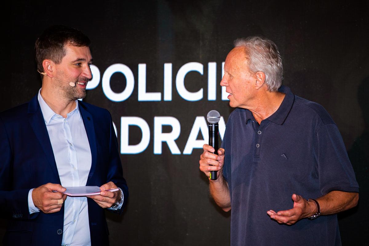 Policii Modrava píše a režíruje Jaroslav Soukup. Foto: Karel Choc