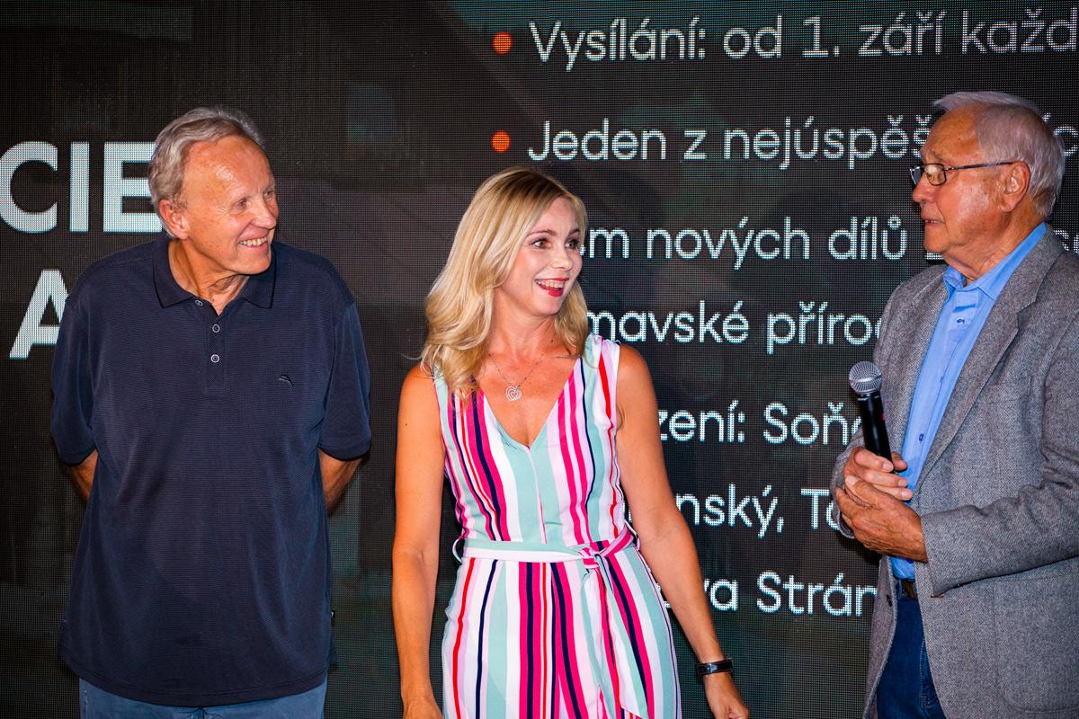 Hlavními tvářemi Policie Modrava zůstávají Jaroslava Stránská a Jaroslav Satoranský. Foto: Karel Choc