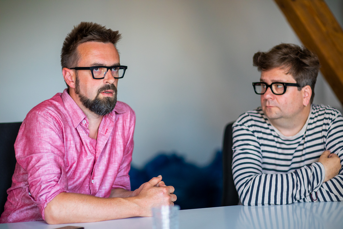 Ivo Laurin a Martin Přikryl. Foto: Karel Choc