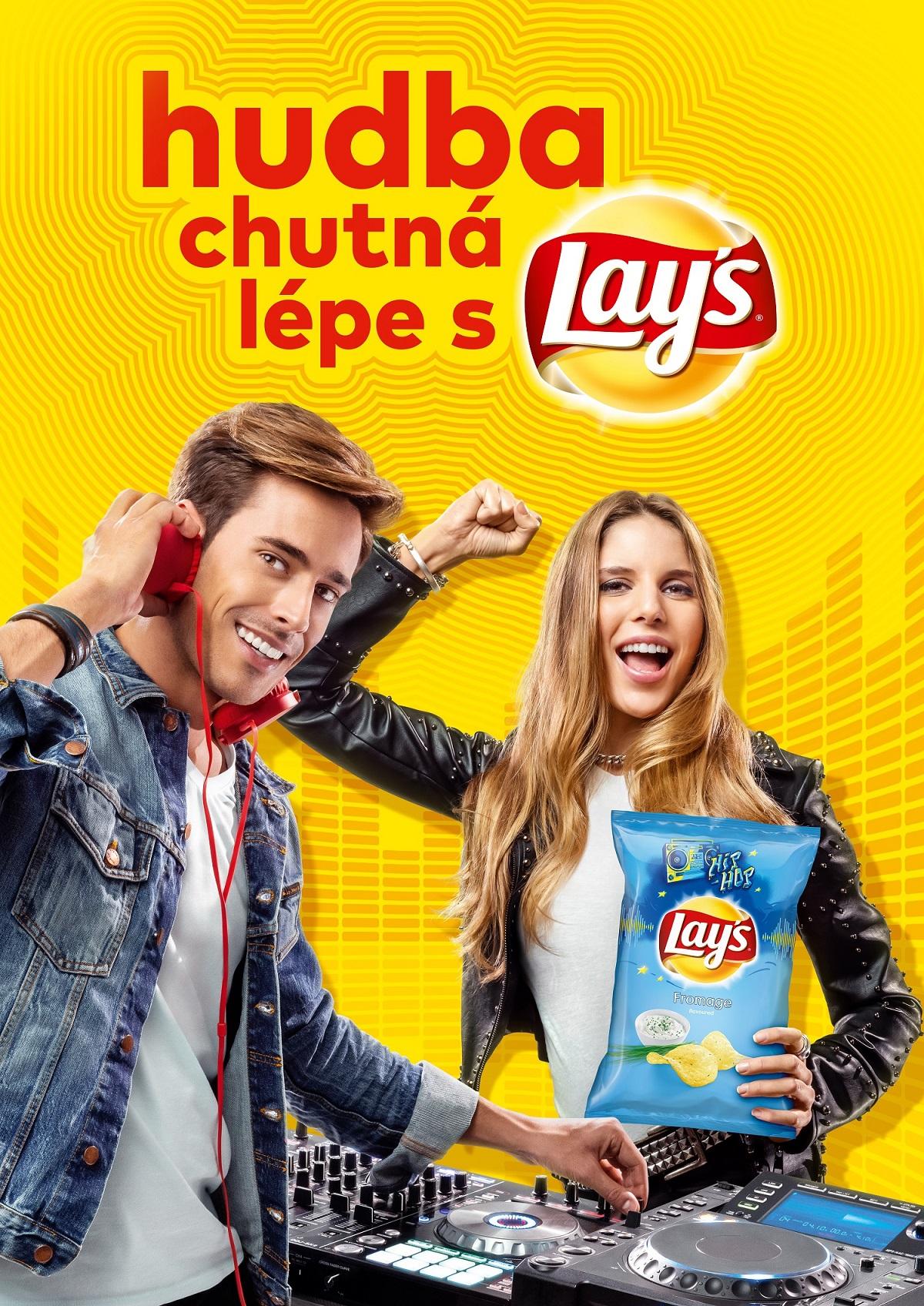 Letní kampaň chipsů Lay's