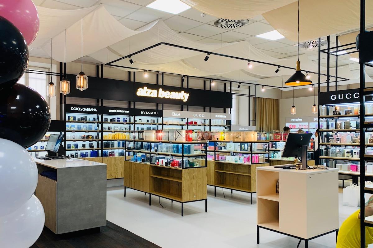Alza Beauty je sekce v centrálním obchodě Alzy v pražských Holešovicích