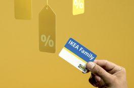 Věrnostní karta Ikea Family se mění z oranžové na bílo-modrou