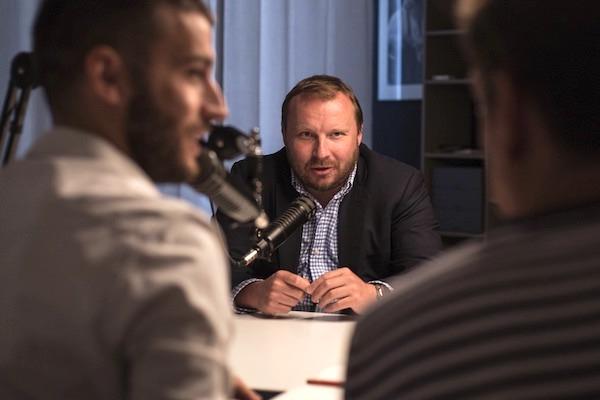 Miroslav Poche v podcastu Insider. Foto: Info.cz