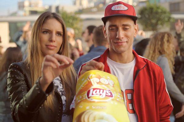 Z kampaně značky Lay's