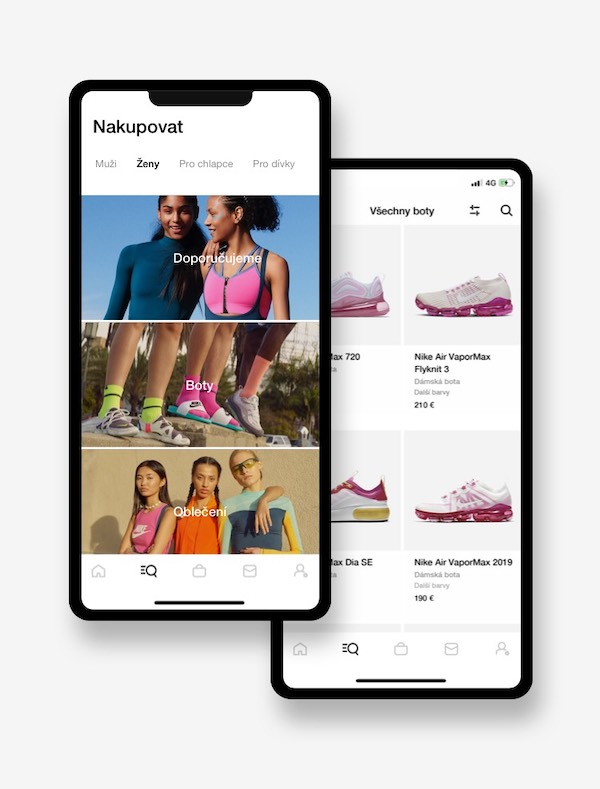 Nike App nabídne přístup ke stálým produktům i speciálním edicím