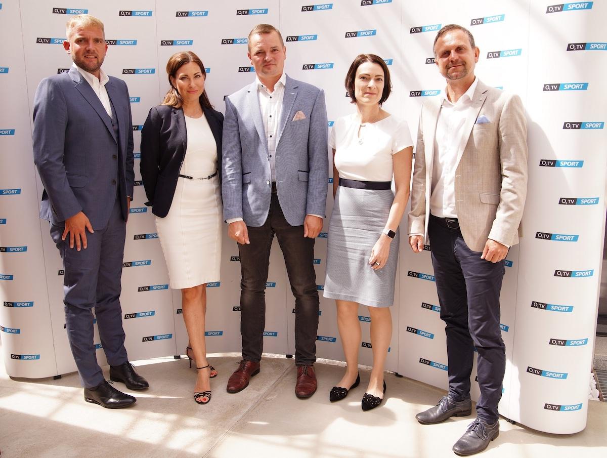 Libor Bouček, Anna Lenerová, Marek Kindernay, Dana Tomášková, Petr Svěcený. Foto pro O2: Jindra Kodíček