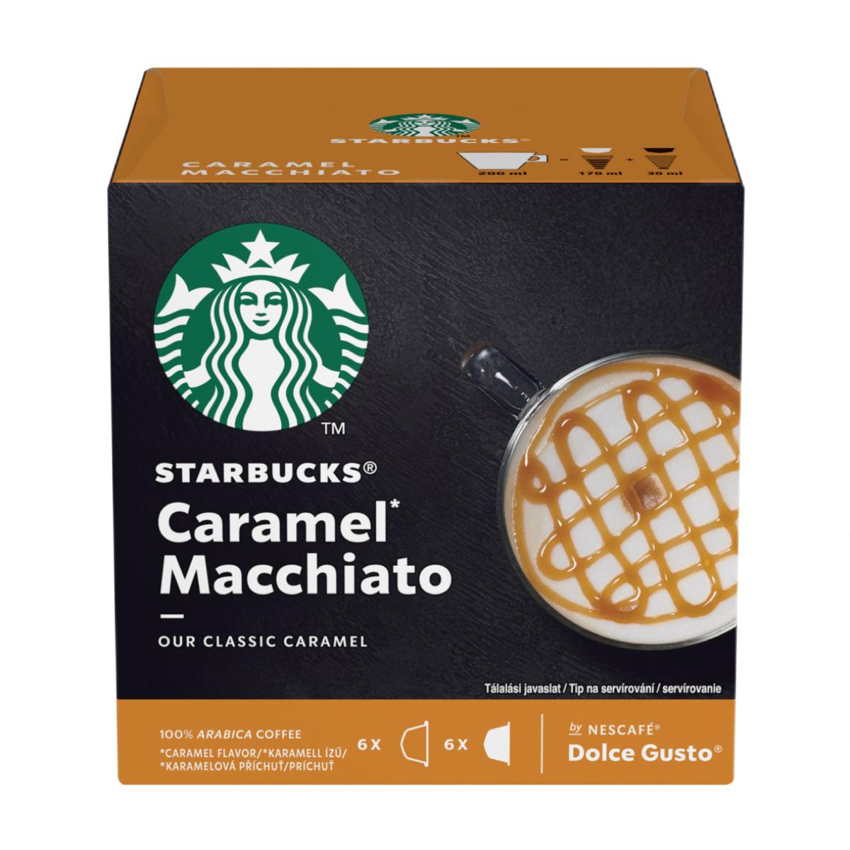 Balení kapslí pro kávovary Nescafé Dolce Gusto