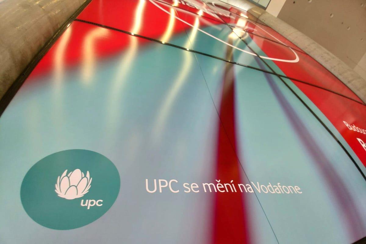 Vodafone pohltí značku UPC