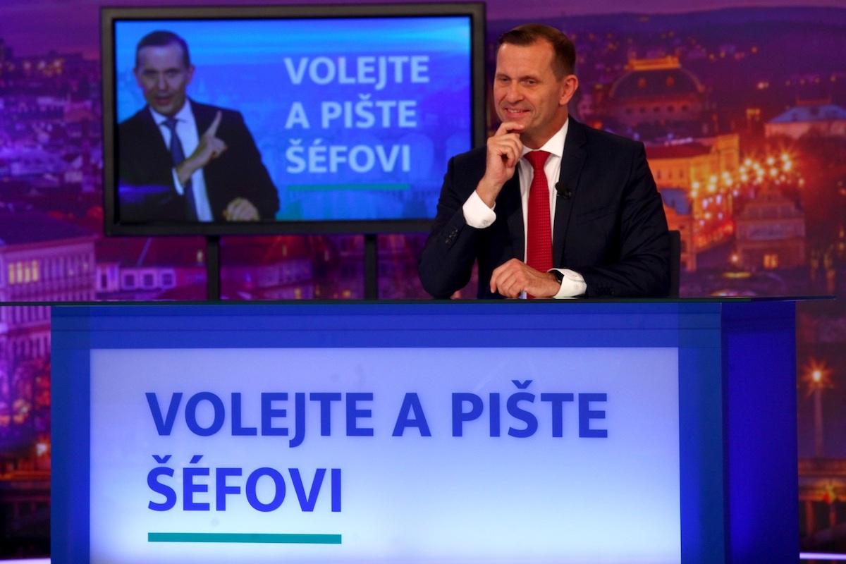 Volejte a pište šéfovi. Foto: TV Barrandov