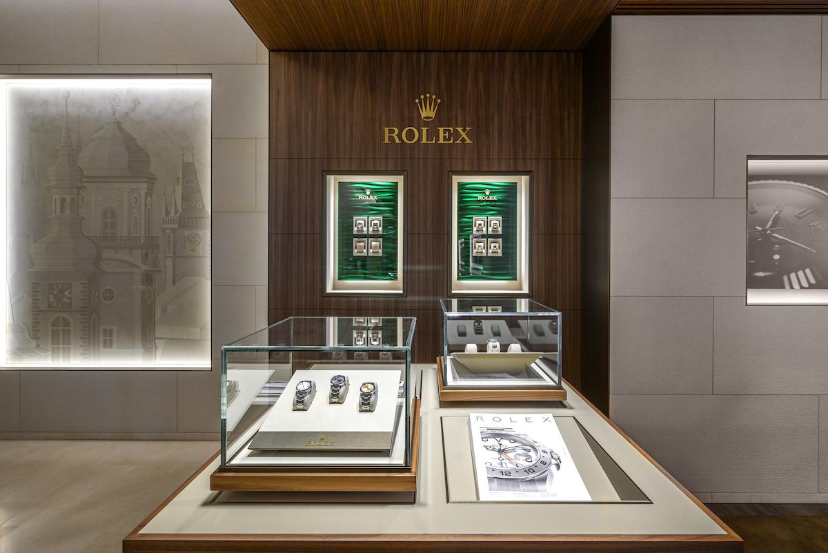 Nový pražský Carollinum Rolex Boutique